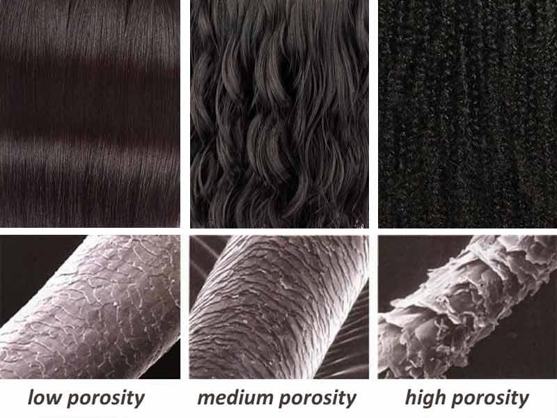بهبود کیفیت ساختار مو