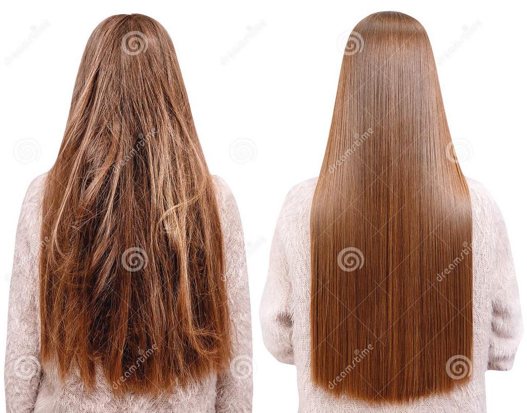 صاف کننده های شیمیایی ، کراتینه مو دائمی