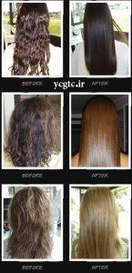صاف کردن مو - براشینگ مو