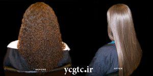 درمان خشکی مو - درمان موهای فر - فر کردن مو ها