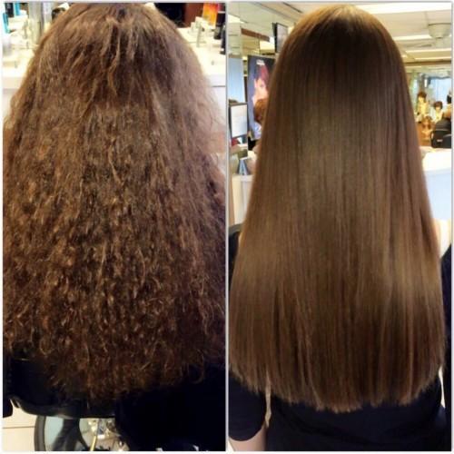 صاف کردن دائمی مو ، کراتینه مو ، احیا مو های سوخته