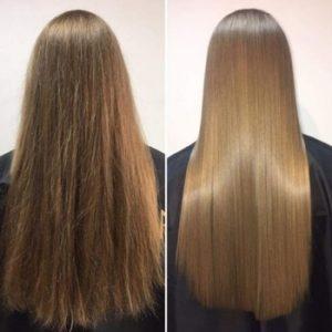 رنگ کردن موی کراتینه شده