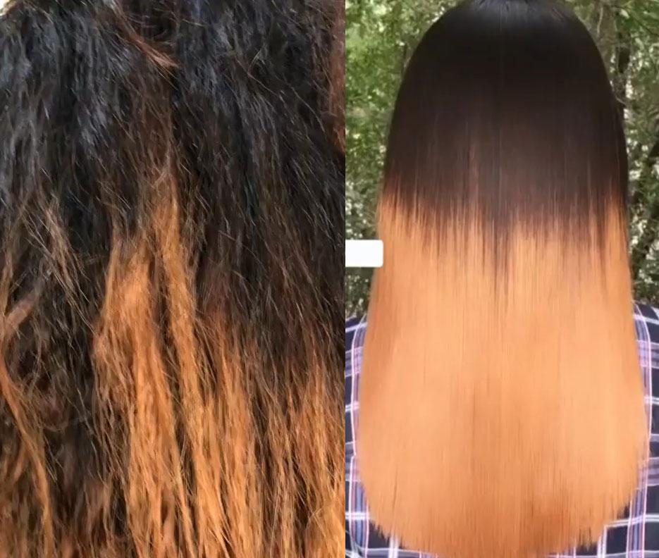 کراتینه مو ، صافی مو ، احیا مو