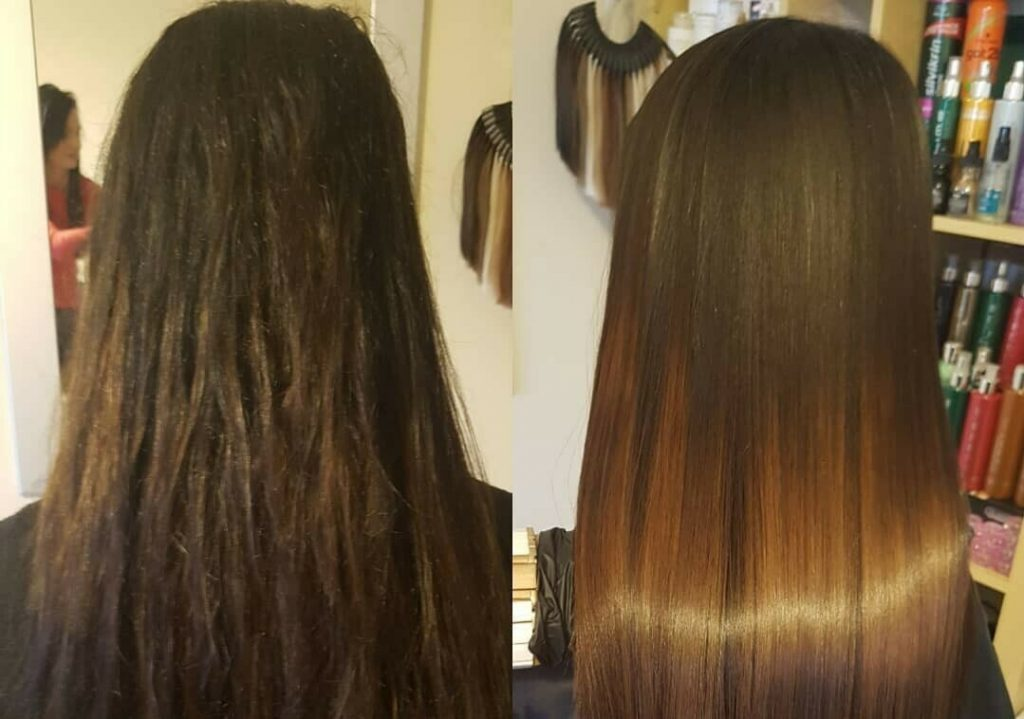 کراتینه موی فر ، کراتینه موی آفریقایی ، مرکز کراتینه مو