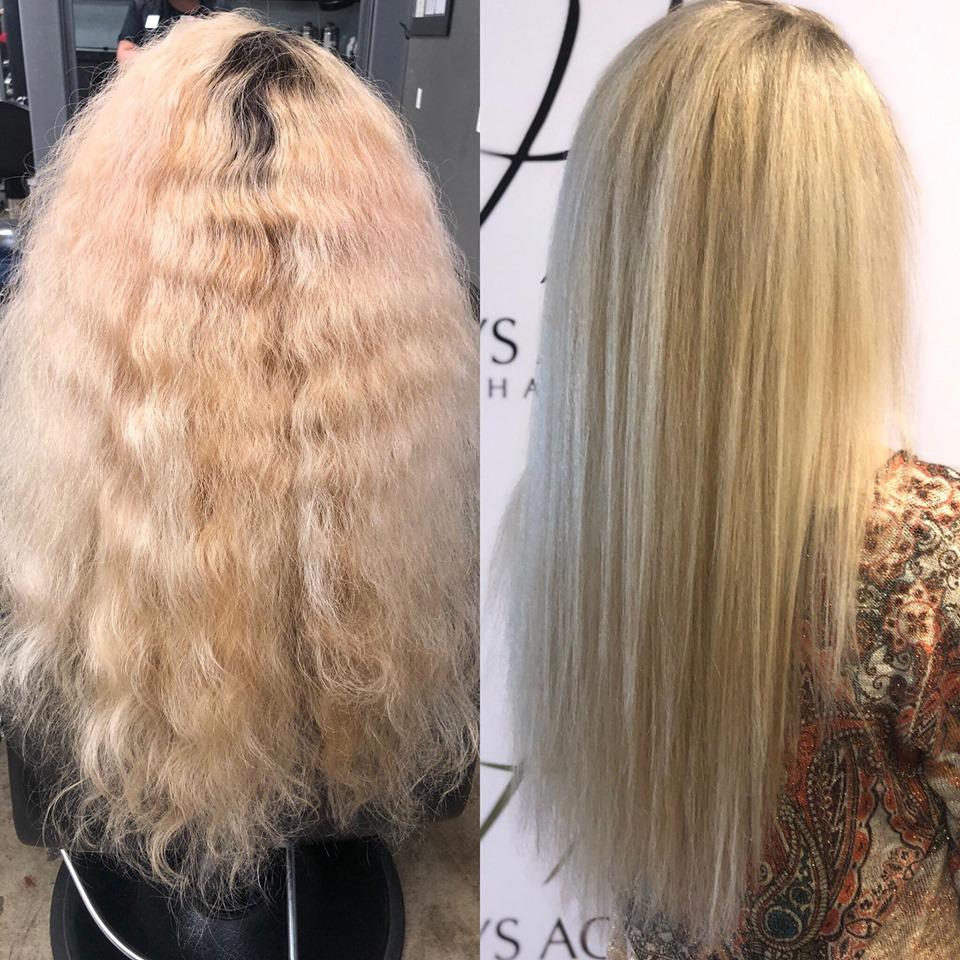 بازسازی موهای آسیب دیده