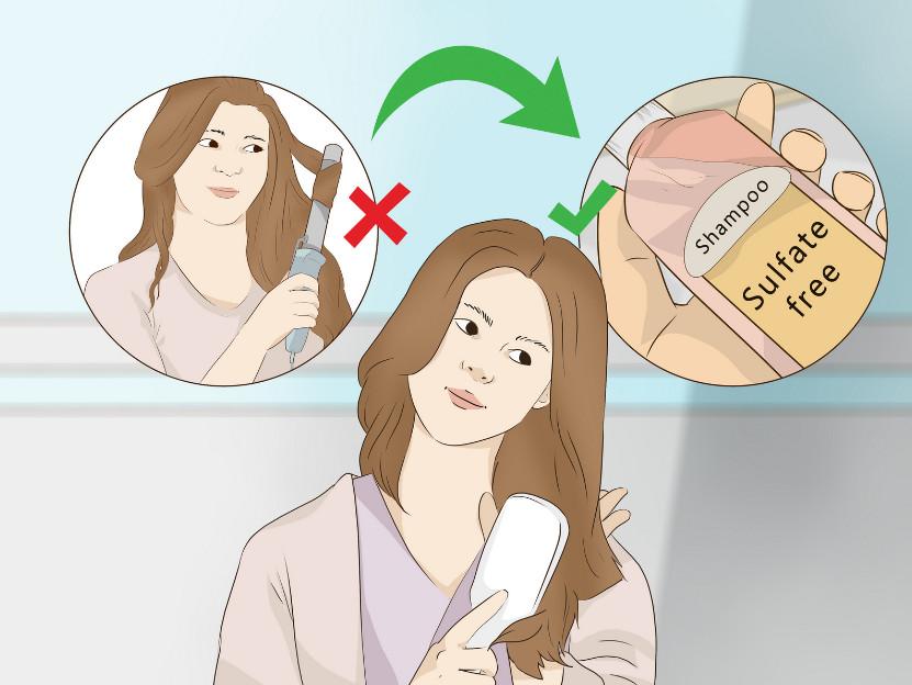 شستن موی کراتینه