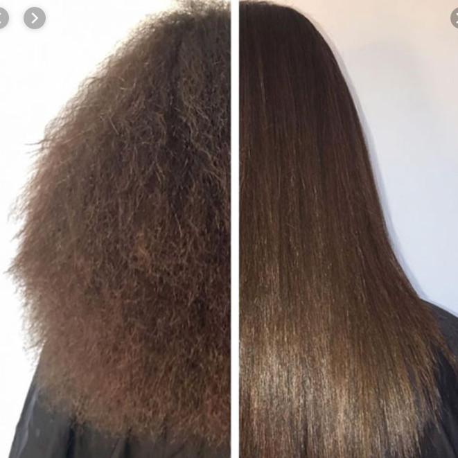 کراتینه مو در منزل ، آرایشگاه کراتینه مو