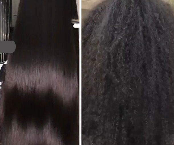 صافی دائمی مو فر یا موی آفریقایی