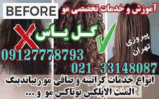 آموزش و انجام خدمات تخصصی موی زنانه در پیروزی (گل یاس)